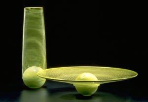 Palla Set - Chartreuse with Spiral Wrap